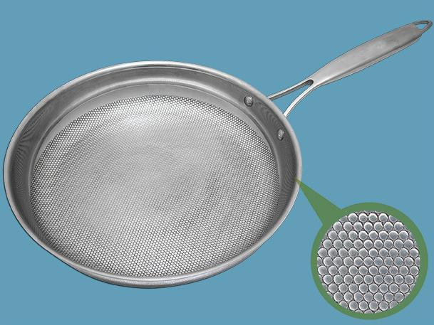 """Dimple"" design frypan"