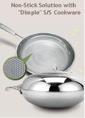 """Dimple"" Design Cookware"